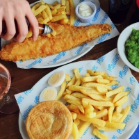Nothing more British than fish and chips