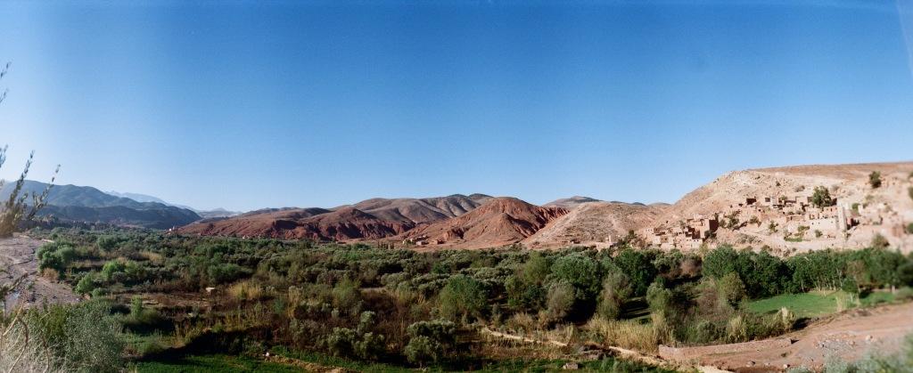 núi Atlas ở Marrakech