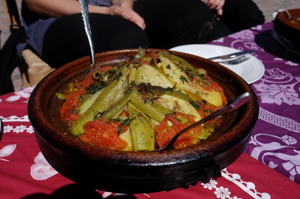 đồ ăn ở Marrakech
