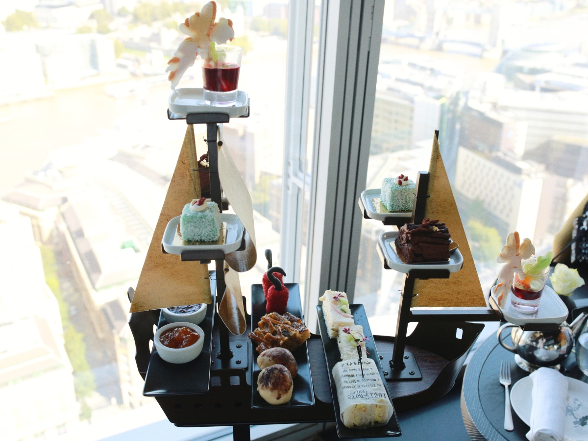 Peter Pan Afternoon Tea at The Shard London